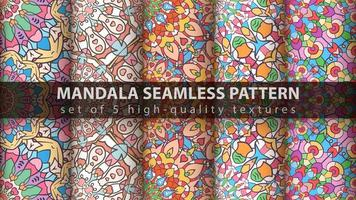 Luxury mandala islamic arabic patterns