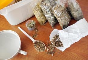 Dry medicinal herbs
