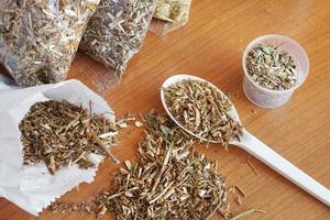 Dried medicinal herbs