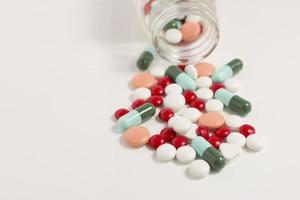 medicina colorida foto