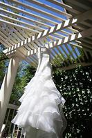 Modern White Wedding Dress