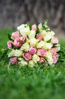 Beautiful wedding bouquet photo