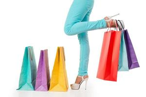 Shopping time concept