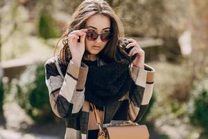 fashionable young woman photo