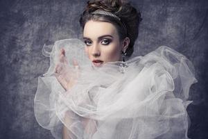 dama romántica retro