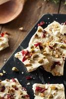 Festive White Chocolate Holiday Bark photo