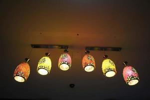 equipo de iluminación de araña foto