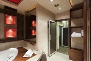 Luxury bathroom design photo