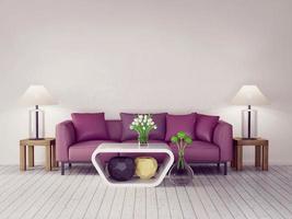 Interior 3d foto