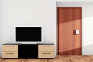 Smart TV sobre tocador foto