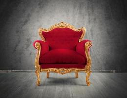 Baroque armchair photo