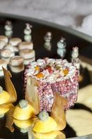 frutas del mar canapés decoracion