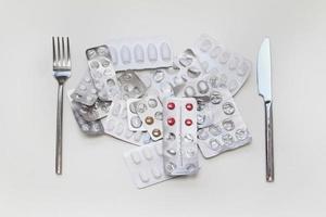 Lunch pills photo
