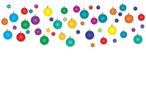fondo de navidad colorido vector