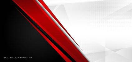 Red, black and white abstract background