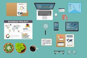 Set of desktop tools