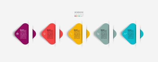 Square kite with rounded corners vector