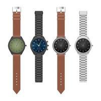 relógio de mão elegante elegante realista
