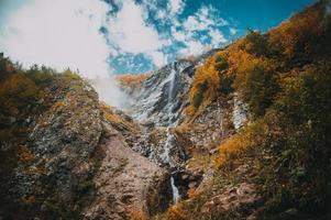 las montañas de krasnaya polyana foto