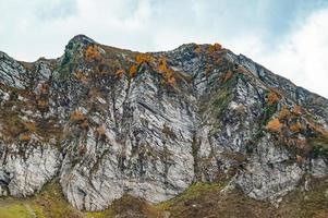 Autumn in the mountains  photo