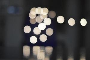 LED light bokeh photo