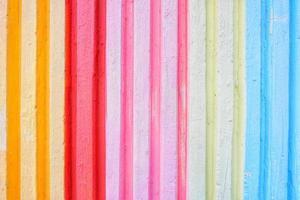 mur de motif vertical coloré vif photo