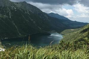 río y montaña