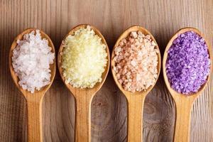Various sea salt