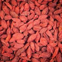Dried goji berries