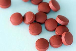 pastillas marrones foto
