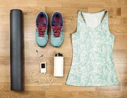 mooie sportset voor hardlopen.
