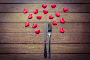 amor por la comida foto