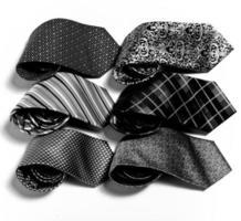 different set of luxury tie on white