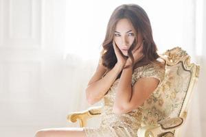 elegant woman photo