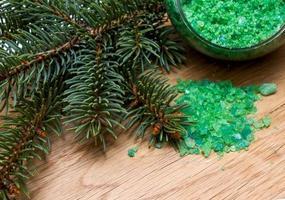Coniferous extract bath