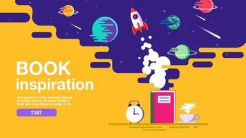 Book inspiration landing page