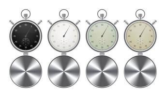 conjunto de cronómetros aislados