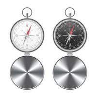 Set of magnetic compass isolated