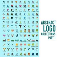 Abstract Logo Collections Part 1 vector