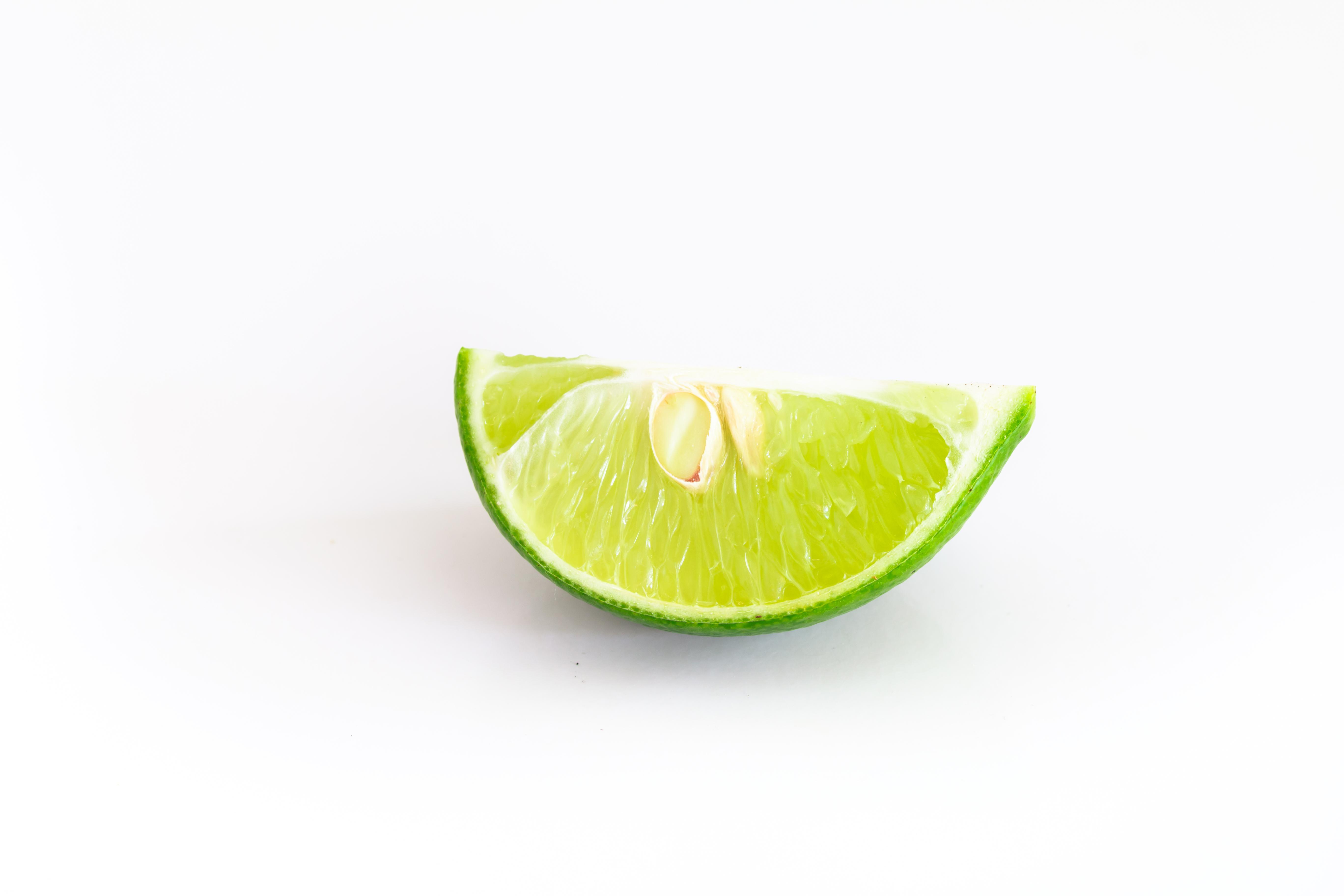 fetta di lime fresco