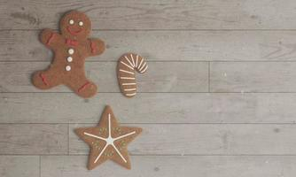 Gingerbread Christmas cookies