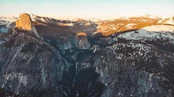 luchtfoto van het Yosemite National Park