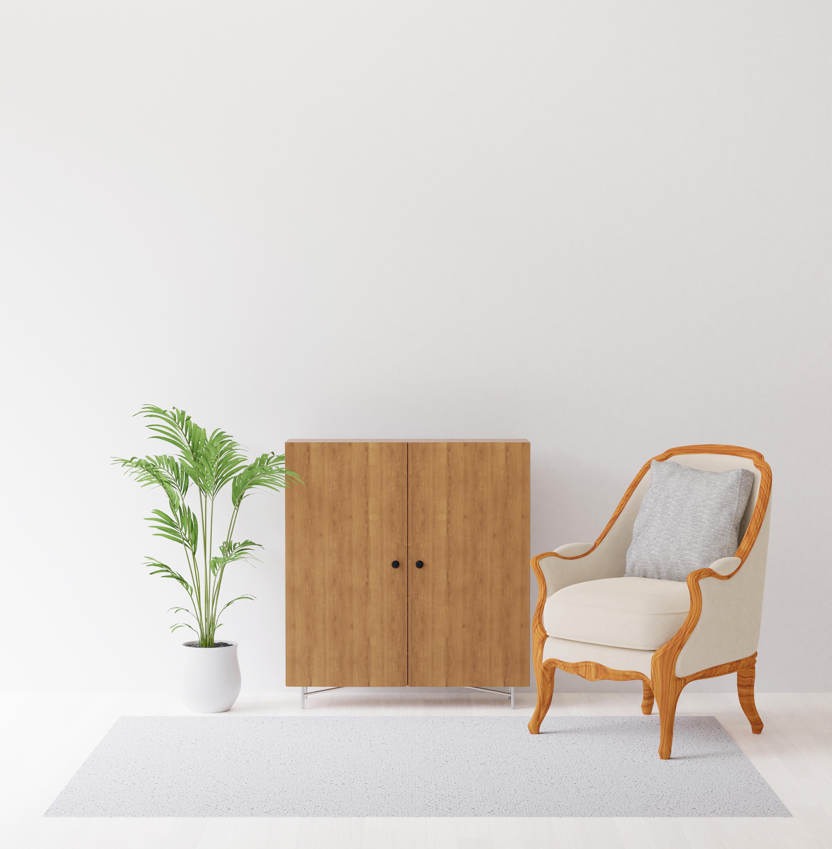 3D render of interior design