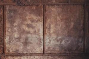 muro de hormigón oxidado marrón