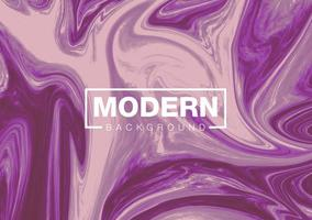 Modern background mixture of acrylic paints vector