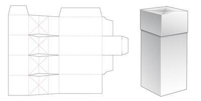 Caja de regalo especial de 1 pieza vector
