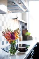 interior de la casa de cocina moderna