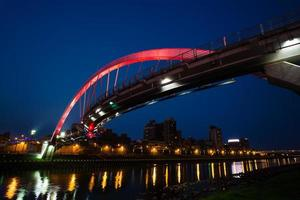 Beautiful bridge in Taipei photo