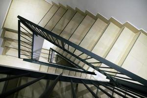 Staircase inside the house photo