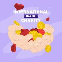 Day of charity poster design